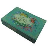 Caixa de empacotamento de papel do chá da impressão de cor para a venda por atacado