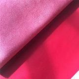 Lycheeデザイン袋の靴のための赤いMicrofiberの革