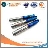 HRC45-60 1,5X4X50 Máquinas herramientas CNC 2/4 Flautas Ballnose Molino final