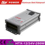 fonte de alimentação do interruptor do excitador do diodo emissor de luz da fonte de alimentação do diodo emissor de luz de 12V/24V 250W