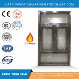 Finestra Rated del fuoco d'acciaio isolata calore