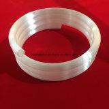 Espiral opaca de alta temperatura tubo de cristal de cuarzo.