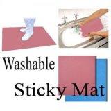 Esteira pegajosa do silicone Washable e reusável para a sala de limpeza