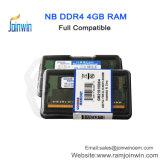 2017 휴대용 퍼스널 컴퓨터를 위한 신제품 DDR4 4GB 2133MHz SODIMM 렘