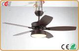 Свет вентилятора потолка вычуры вентилятора вентиляторной системы охлаждения потолка
