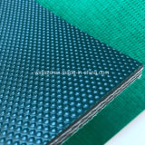 Gasolina de alta calidad de PVC Verde cintas transportadoras para máquina de pulido