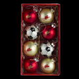 Bola de la Navidad con insignia