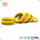 Anel-O excelente amarelo da borracha da resistência química de Ffkm