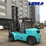 De alta calidad chino de 5 toneladas de gasolina carretilla elevadora GAS