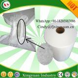 Materiale non tessuto idrofobo del tessuto di SMS SMMS per il polsino del piedino del pannolino