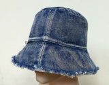 De piedra lavada Denim cuchara Hat