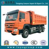 Sinotrukの頑丈なダンプトラックのユーロ2の6X4ダンプカートラック