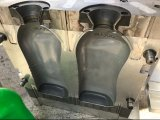 Macchina di salto della doppia della stazione pp espulsione della bottiglia per il recipiente di plastica