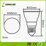El espectro completo PAR20 7W SMD3020 LED crece E27LED ligero crece la bombilla de la IGUALDAD para el invernadero floreciente del jardín de interior de la iluminación
