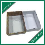 Las manzanas corrugado cartón de embalaje con ventana PVC transparente