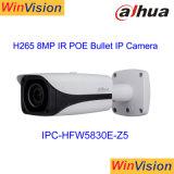 A segurança externa da marca Dahua p2p 4 K H. 265 Poe Rede bullet de IV 8MP Ipc-Hfw Câmara IP5830e-Z5