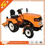 Maquinaria agrícola 12-20 HP Pequeña/Jardín/Tractor compacto para la comunidad usando