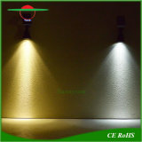 Montado na parede Jardim garagem da lâmpada de luz de iluminação solar paisagem de Campismo