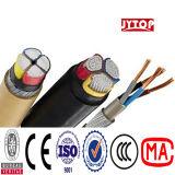 120мм 4core алюминиевых XLPE изоляцией ава бронированных кабель питания