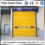 Porte rapide industrielle automatique de roulement de PVC