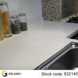 Parte superior de superfície contínua acrílica do banco da cozinha
