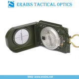 군 기준 (ES-OP-C03)를 가진 고유 80 작풍 Lensatic 육군 나침의