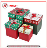 4 피스 크리스마스 선물 상자 정사각형 상자 선물 상자 제조자 직매는 주문을 받아서 만들어질 수 있다