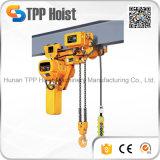220V 380V Hsy Leichtgewichtler 2 Tonnen-elektrische Kettenhebevorrichtung für Verkauf