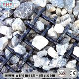 Écran flexible de dessus plat en métal pour le tamis de minerai