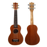 O mogno laminado Soprano Hawaii Travel Guitar Ukulele