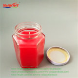 Bio- candela naturale organica costolata della cera della soia per Comestics