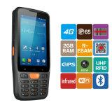 varredor Handheld Android áspero do código de barras da captação de dados PDA do código de barra de 1d Qr 2D