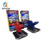 Parte de diversiones simulador de conducción de las máquinas de juego de carreras de coches
