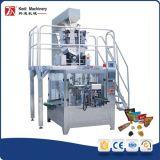 Cremallera automática Máquina de embalaje para las tuercas mezcladas con cremallera funda