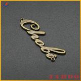 Сумка для принадлежностей Логотип моды оформление теги металлические наклейки
