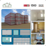 Installeer snel het Geprefabriceerde Huis van de Container van de Structuur van het Staal Huis