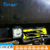 """4 """" 27W 4X4 indicatore luminoso di azionamento di funzionamento quadrato della jeep LED"""