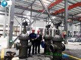 API 6D 600lb 수동 운영한 플랜지 석판 게이트 밸브 공장