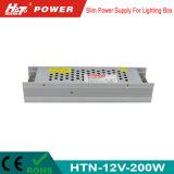 alimentazione elettrica di commutazione del trasformatore AC/DC di 12V 16A 200W LED Htn