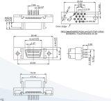 SCSI Verbinder14 Pin 90/180 Grad BAD