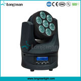 7X15W interior RGBW Guangzhou Haz Mini LED moviendo la cabeza Wholesale