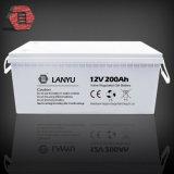 batterie solaire d'acide de plomb de batteries rechargeables du gel AGM de cycle profond de 12V 200ah