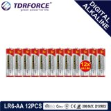 Batterij van de Leverancier van China van Mercury&Cadmium de Vrije Digitale Alkalische (lr03-AAA 12PCS)