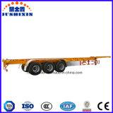 Трейлер контейнера 3 Axle каркасный для перевозки