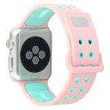 De kleurrijke Zachte Band van de Sport van het Silicone voor het Horloge van de Appel Riem van de Armband van de Pols van Series3 2 1 38mm 42mm