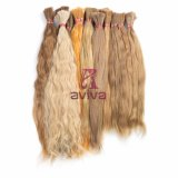#613インドの天使の毛の未加工毛の大きさのバージンの毛の拡張大きさ