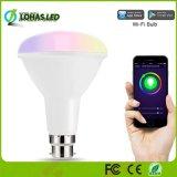 10W Br30 RGB+W Lâmpada de Luz inteligente Tuya lâmpada LED Inteligente WiFi funciona com Amazon Alexa/Google Home