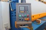 Metallblatt-Ausschnitt-Maschine 10/3200mm, hydraulische Träger-Schere des Schwingen-QC12Y-10/3200, hydraulische scherende Maschine QC12Y-10/3200