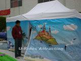 Digital-Drucken-buntes bekanntmachendes faltendes Zelt für Strand