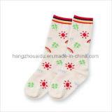 Form-Breathable mit Blumenbaumwolle scherzt Socke